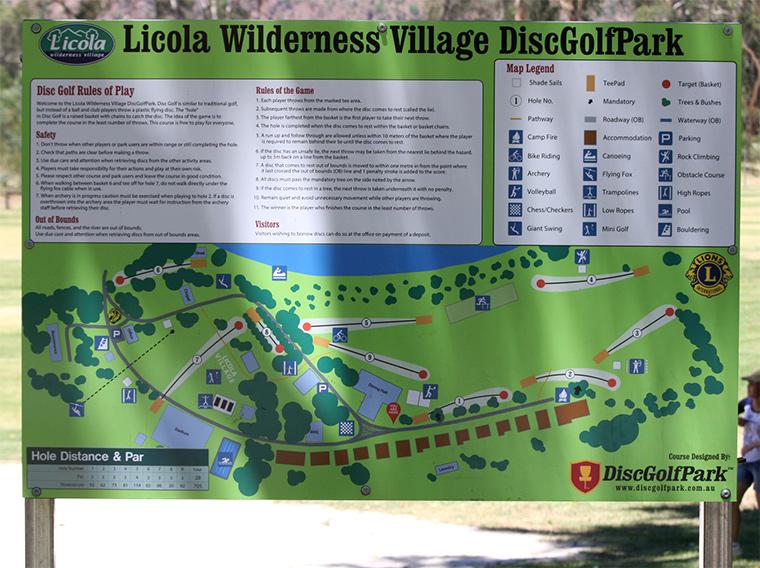 Licola info-board