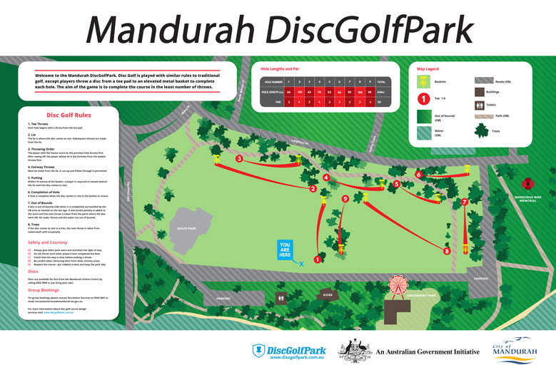 Mandurah Disc Golf Course