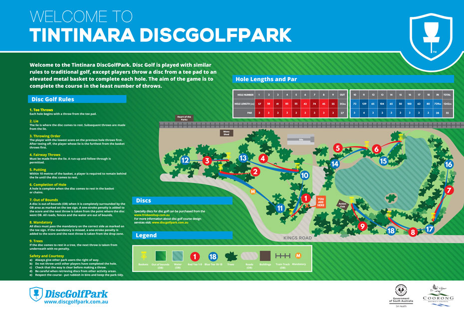 Tintinara Disc Golf Course