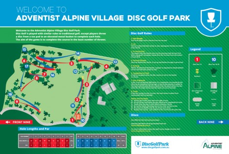 An image of Adventist Alpine Village Disc Golf Park